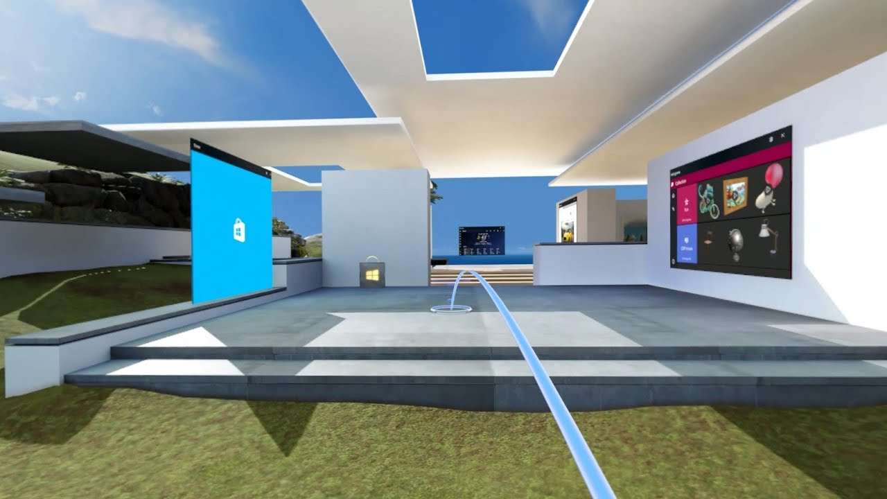 Windows Mixed Reality navidezni dom
